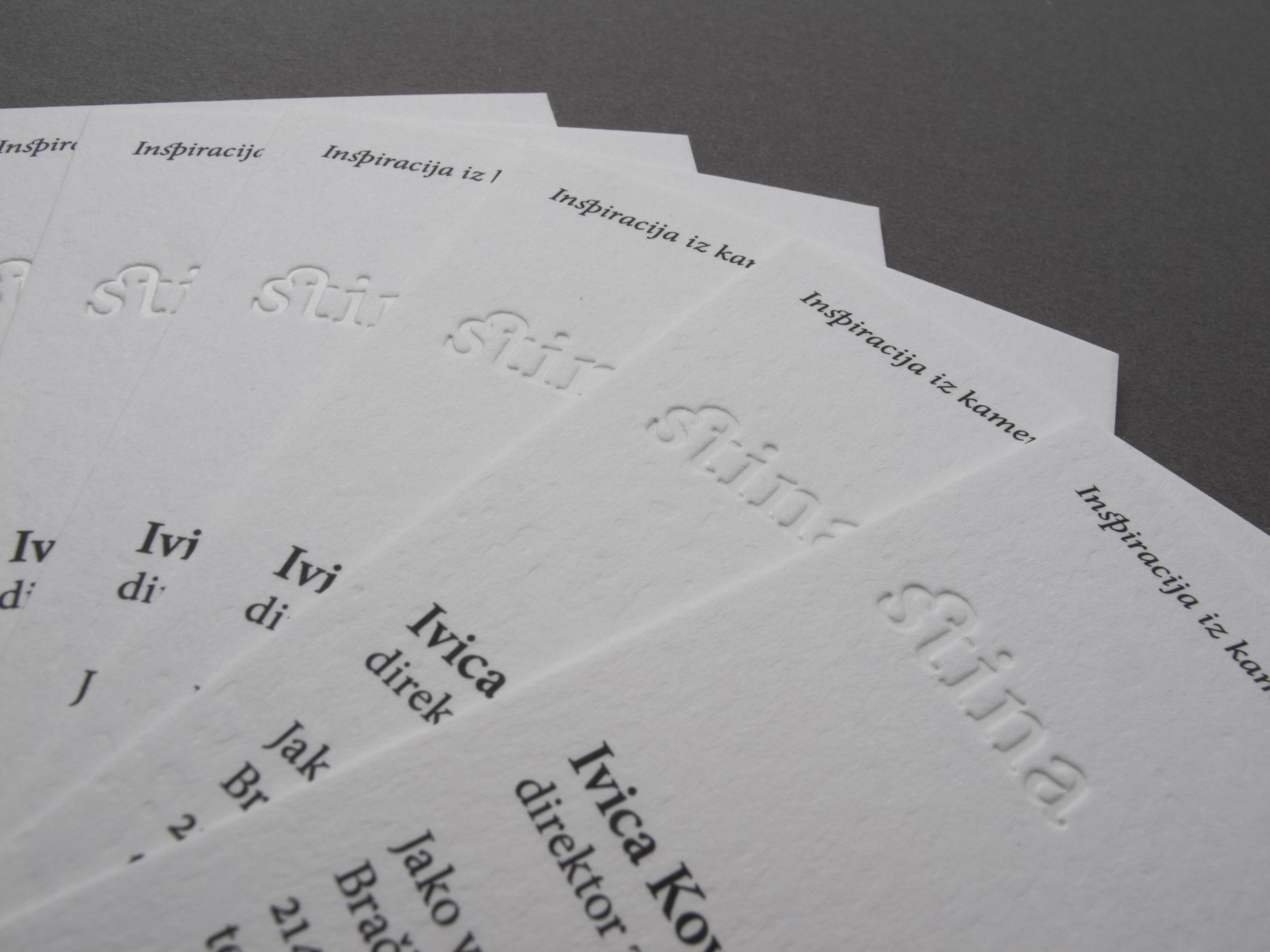 BUSINESS CARDS STINA VINO - Cerovski